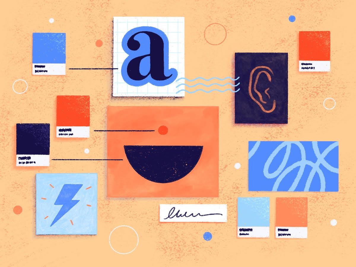 Design graphique cevennes . Illustration réalisée par Cleo Studio: elle illustre comment l'écoute et la compréhension des besoins permettent la création d'une identité visuelle originale et pertinente